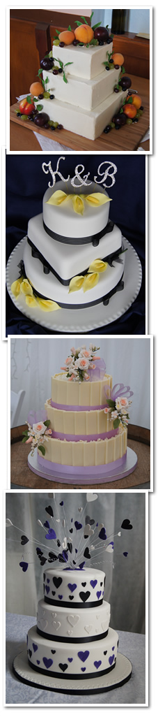 Weddings Cakes by Denice Laird