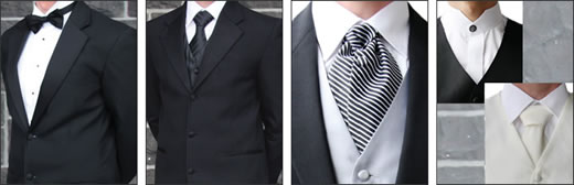Examples of Wedding Suit Hire