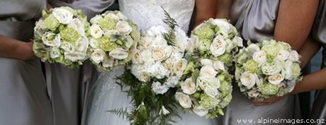 Wanaka wedding Bridesmaid Flowers by Andrea Crawford