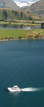 Cruising Lake Wanaka