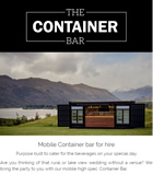 Wanaka's Container Bar