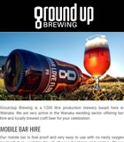 ground up BREWING from Wanaka